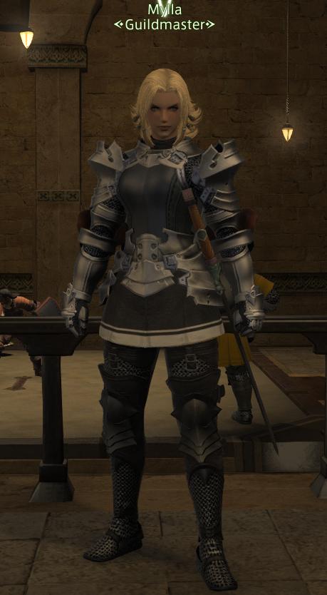 Final Fantasy 14 Gladiator Armor Final fantasy xiv (ffxiv,
