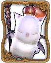 Good King Moggle Mog XII Card