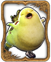 Fat Chocobo Card