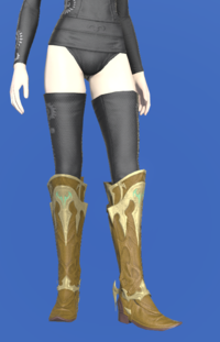 Model-Dragonskin Boots of Healing-Female-Elezen.png