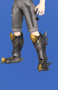 Model-Tarnished Feet of Pressing Darkness-Male-Miqote.png