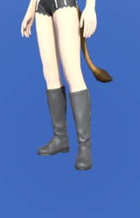 Model-High Summoner's Boots-Female-Miqote.png