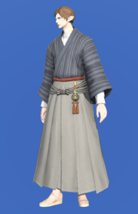 Model-Far Eastern Schoolboy's Hakama-Male-Elezen.png