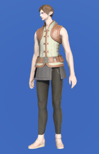 Model-Velveteen Doublet Vest of Crafting-Male-Elezen.png