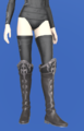 Model-Carborundum Boots of Aiming-Female-Elezen.png