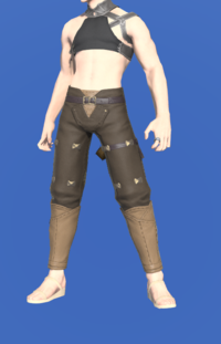 Model-Gyuki Leather Trousers of Fending-Male-Miqote.png