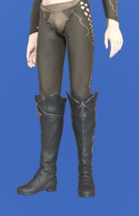 Model-Halonic Exorcist's Thighboots-Male-Elezen.png