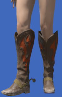 Model-Gyuki Leather Boots of Gathering-Female-Viera.png