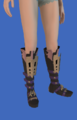 Model-Replica Sky Rat Ironclad Boots of Casting-Female-Miqote.png