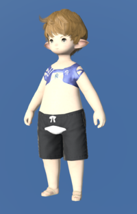 Model-Blue Summer Top-Male-Lalafell.png