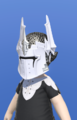 Model-Direwolf Helm of Fending-Male-Lalafell.png