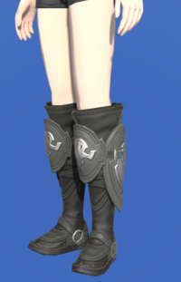 Model-Ishgardian Bowman's Boots-Female-Hyur.png