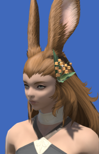 Model-Orange Lily of the Valley Corsage-Female-Viera.png