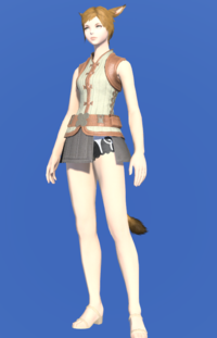 Model-Velveteen Doublet Vest of Crafting-Female-Miqote.png