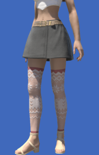 Model-Whisperfine Woolen Shorts-Female-Viera.png