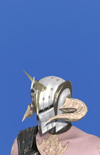 Model-Augmented Lost Allagan Helm of Fending-Male-AuRa.png