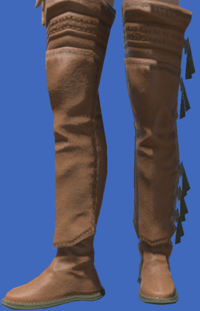 Model-Archaeoskin Jackboots of Gathering-Female-Viera.png