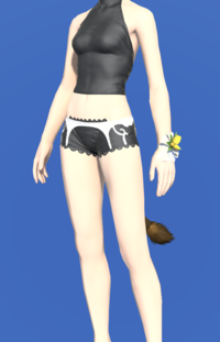 Model-Yellow Tulip Corsage-Female-Miqote.png