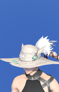 Model-True Linen Hat of Healing-Male-Miqote.png