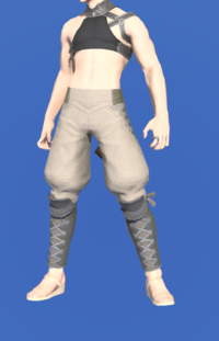Model-Linen Sarouel of Gathering-Male-Miqote.png