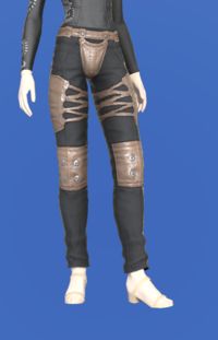 Model-Padded Velveteen Trousers-Female-Elezen.png