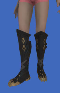 Model-Replica Sky Pirate's Boots of Fending-Female-Viera.png