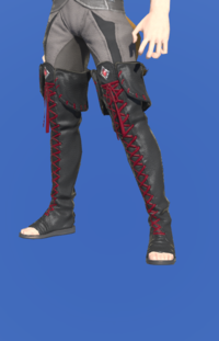 Model-Ghost Barque Open-toed Boots of Scouting-Male-Miqote.png