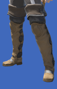 Model-Altered Boarskin Thighboots-Male-Miqote.png