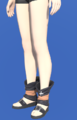 Model-Kirimu Sandals of Striking-Female-Hyur.png