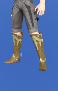 Model-Dragonskin Boots of Healing-Male-Miqote.png
