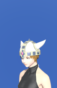 Model-Aetherial Raptorskin Pot Helm-Female-Miqote.png