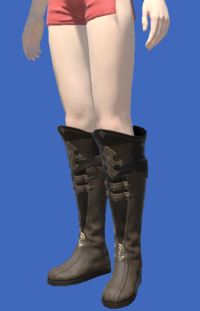 Model-Atrociraptorskin Boots of Crafting-Female-Hyur.png