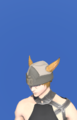 Model-Linen Wedge Cap of Gathering-Male-Miqote.png