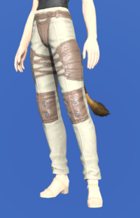 Model-Padded Velveteen Trousers-Female-Miqote.png