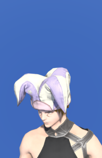 Model-Rainbow Cap of Healing-Male-Miqote.png