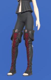 Model-Ghost Barque Open-toed Boots of Scouting-Female-AuRa.png