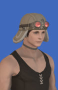 Model-Replica Sky Pirate's Cap of Healing-Male-Hyur.png
