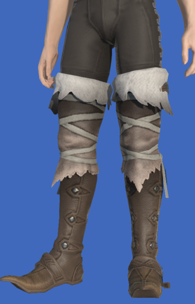 Model-Woad Skyhunter's Boots-Male-Hyur.png