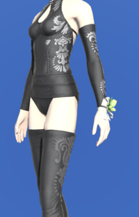 Model-Green Tulip Corsage-Female-Elezen.png