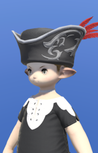 Model-Tricorne of the Daring Duelist-Male-Lalafell.png