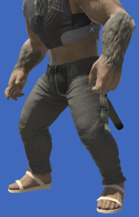 Model-Flame Private's Chausses-Male-Hrothgar.png