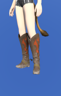 Model-Gyuki Leather Boots of Gathering-Female-Miqote.png