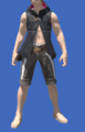 Model-Hooded Fireglass Leather Vest-Male-Miqote.png