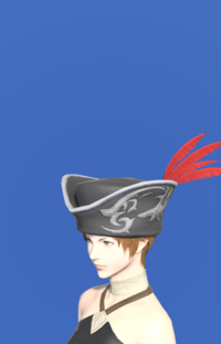 Model-Tricorne of the Daring Duelist-Female-Hyur.png