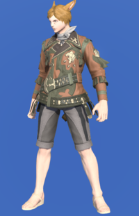 Model-Archaeoskin Jackcoat of Gathering-Male-Miqote.png