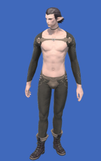 Model-Obsolete Android's Boots of Striking-Male-Elezen.png