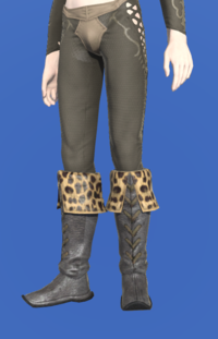 Model-Scion Thaumaturge's Moccasins-Male-Elezen.png