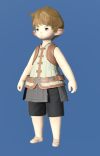 Model-Velveteen Doublet Vest of Crafting-Male-Lalafell.png