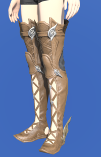 Model-Augmented Evoker's Thighboots-Female-Hyur.png