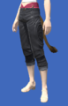 Model-Cropped Fireglass Leather Slops-Female-Miqote.png